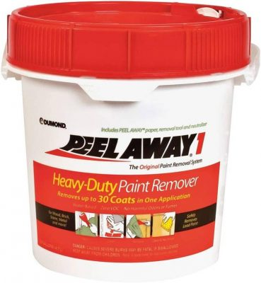 dumond peel away paint remover for wood