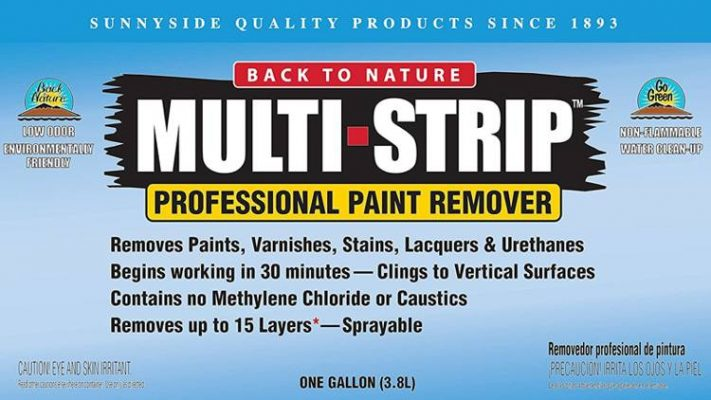 sunnyside multi strip paint remover for wood