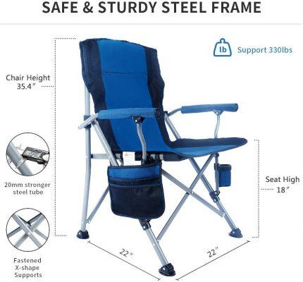 Lamberia Folding Camping Chair 3