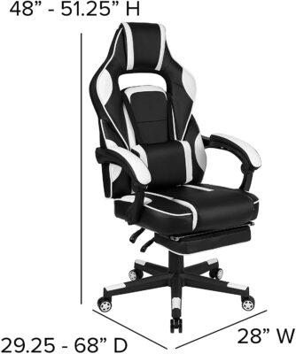 Flash Furniture X40 Gaming Chair Racing Ergonomic Computer Chair 4